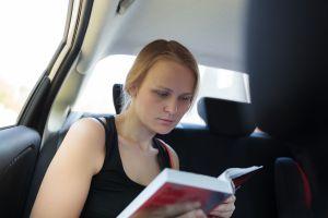 Reading in Car