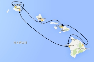 Click here to read more about the Hawaiian Cruise tour.