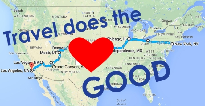 Travel does the heart good USA
